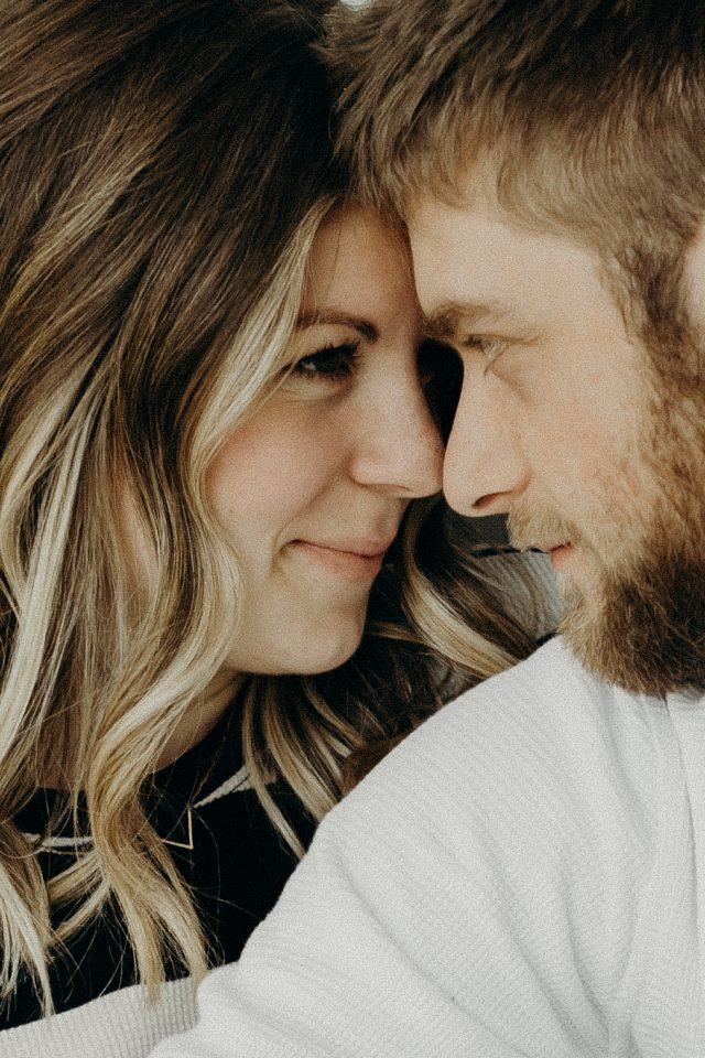 cosy home couples session